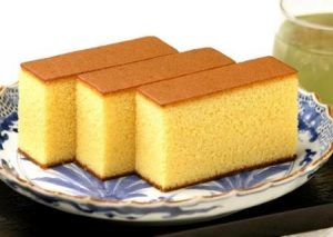 Kasutera(Japanese sponge cake)